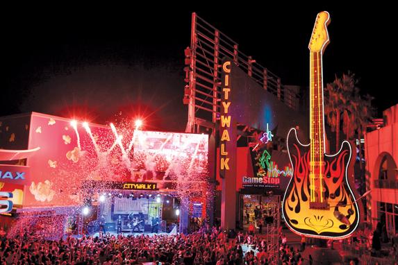 Discotecas y bares en Universal CityWalk en Orlando