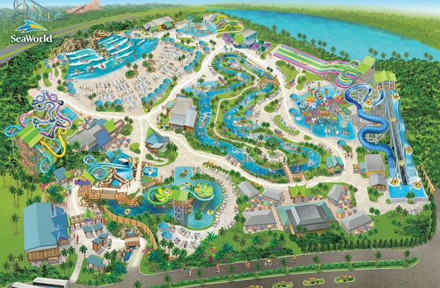 ¿Dónde está el parque Aquatica en Orlando?