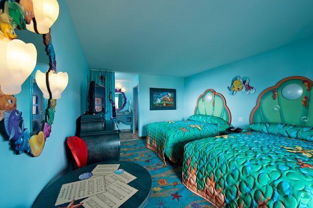 Habitación de hotel dentro de Disney en Orlando