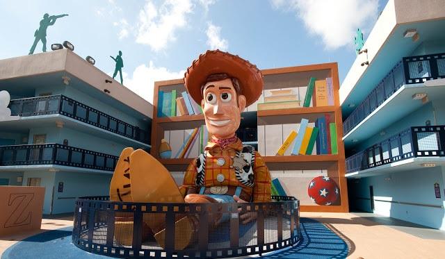 Personaje en hotel dentro de Disney en Orlando
