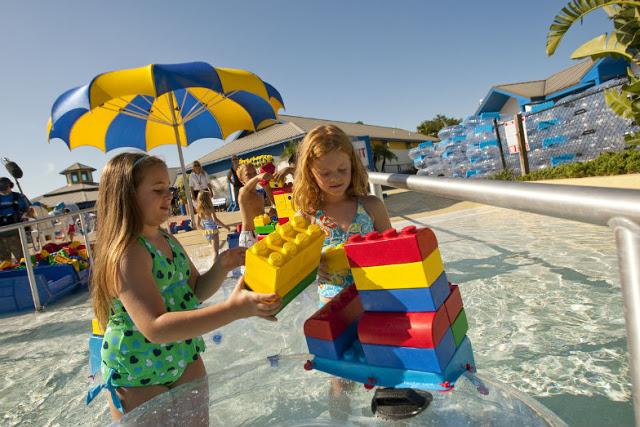 Ninãs en Legoland Waterpak