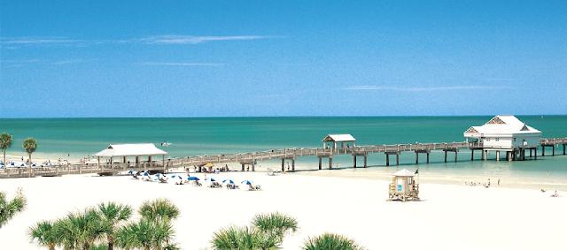 Clearwater Beach en Florida