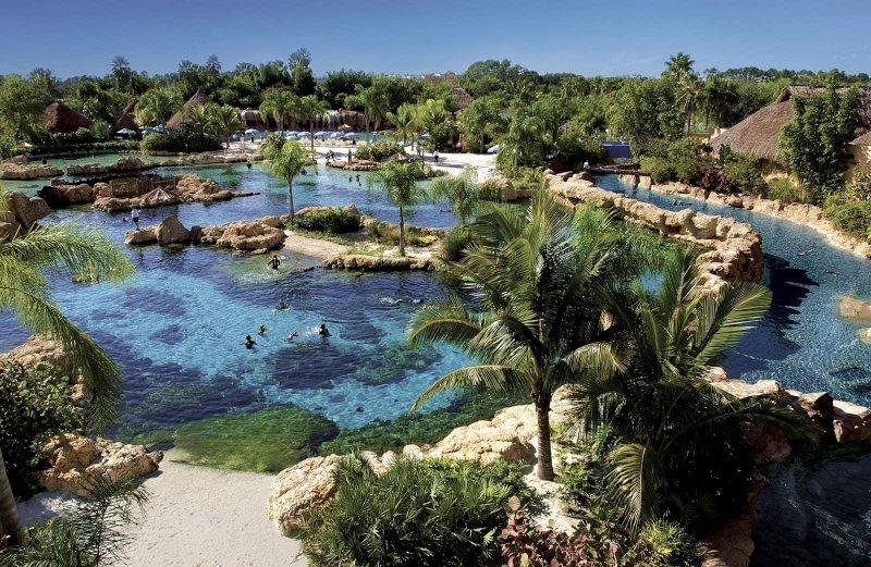 Parque acuático Discovery Cove en Orlando