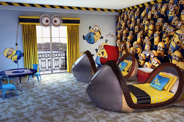Hotel dentro de Universal en Orlando: Minions