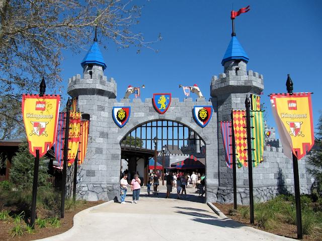 Area Lego Kingdoms en el parque Legoland