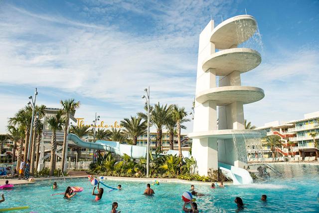 Hotel Cabana Bay en el complejo Universal