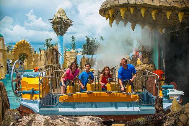 World of Chima en el parque de Lego en Orlando