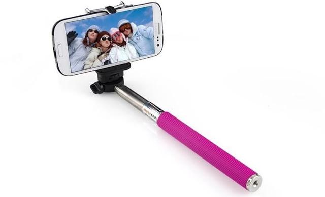 Palo de selfie (selfie stick) para el celular y la GoPro