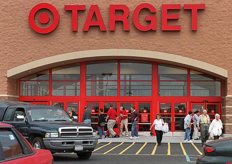 Supermercado Target en Miami - entrada