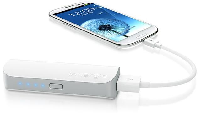 Cargador portátil para celular y cámara de fotos
