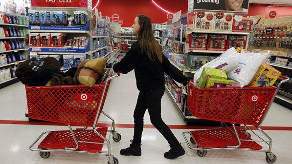 Compras en el supermercado Target en Miami