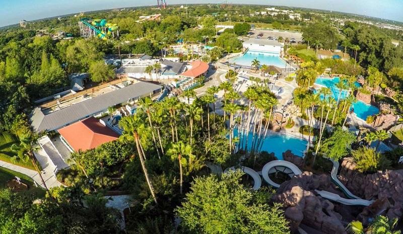Parque Adventure Island en Tampa, Miami