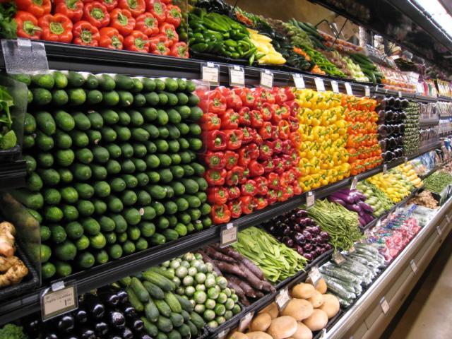Supermercados en Orlando - vegetales