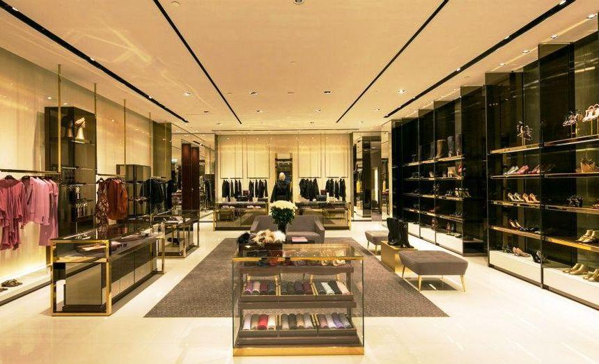 Tiendas Gucci en Miami - interior