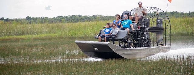 Paseo en barco por el Everglades National Park en Flórida