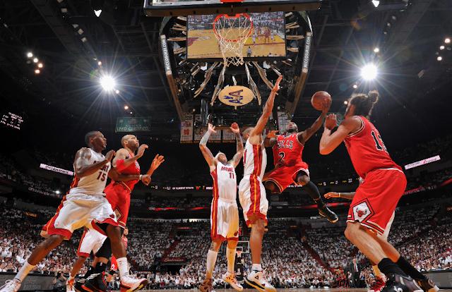 Juego de basket de Miami Heat