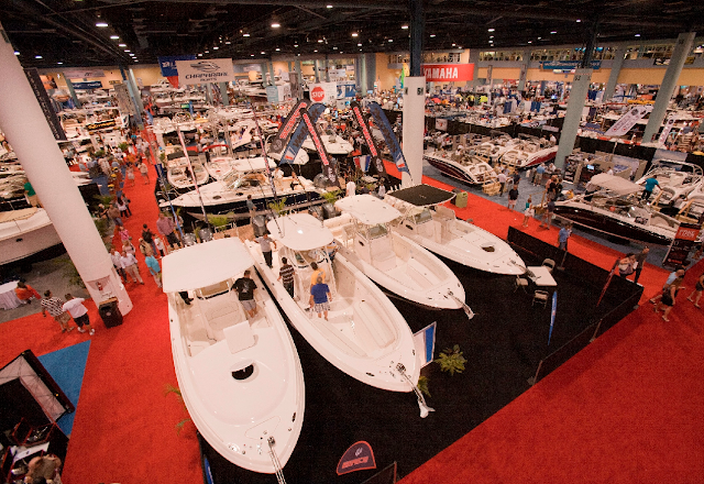 Show internacional de barcos en Miami