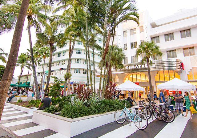 Tiendas en Lincoln Road en Miami