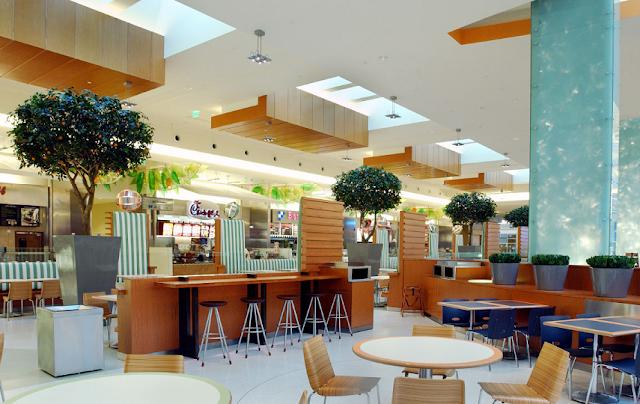 Parte de alimentación en shopping The Mall at Millenia en Orlando