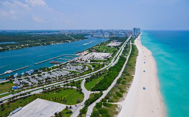 Miami en febrero: playa