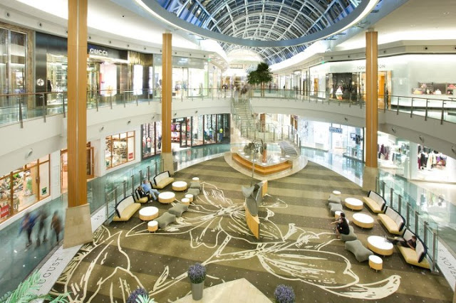 Tiendas del shopping The Mall at Millenia en Orlando