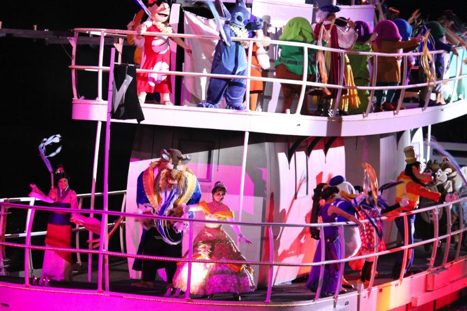 Show Fantasmic en el Parque Disney Hollywood Studios en Orlando