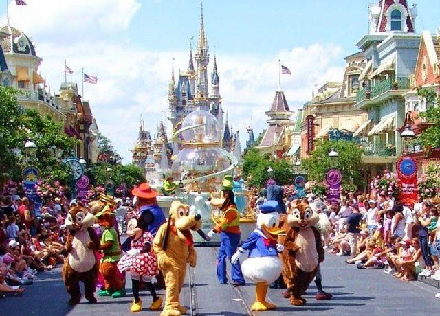 Los cuatro parques de Disney en Orlando