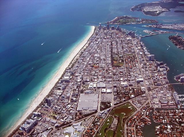 Vista de Miami en Flórida